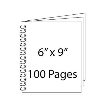 Picture of 6 x 9 - 100 Page Wire-O Guest Book